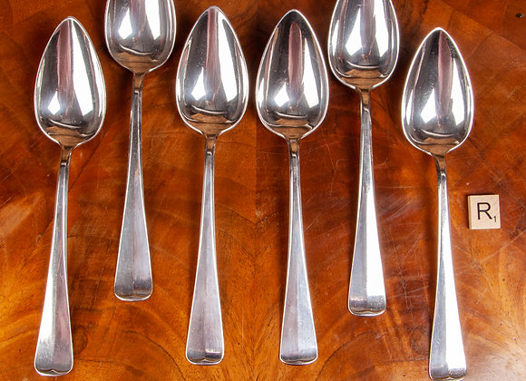 A Set of Six Early 20th Century Large Spoons
