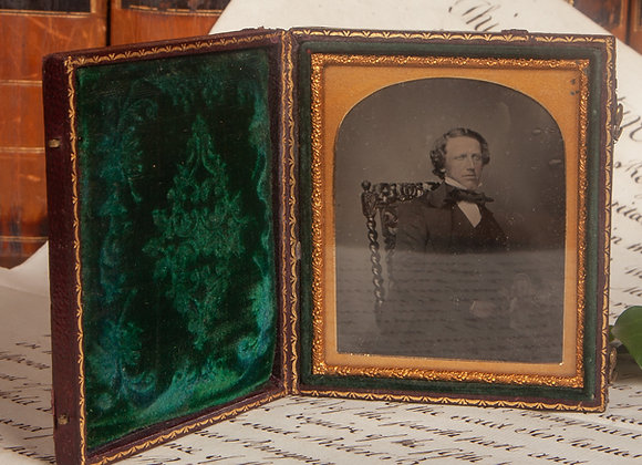 Ambrotype of a Young Gentleman with a Cravat
