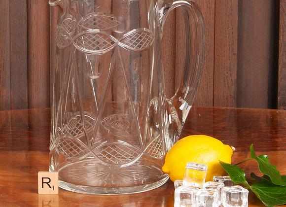 A Late Victorian Water or Lemonade Jug