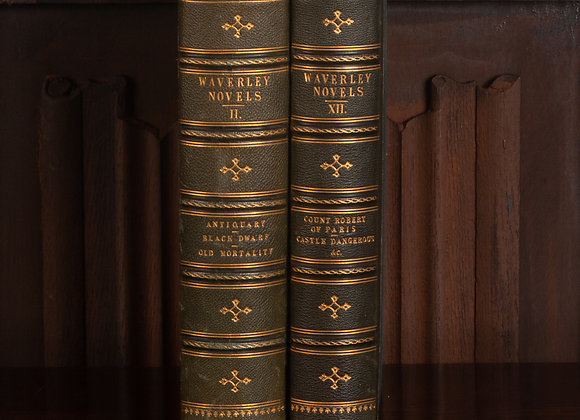 2 Late Victorian Volumes of The Waverly Novel