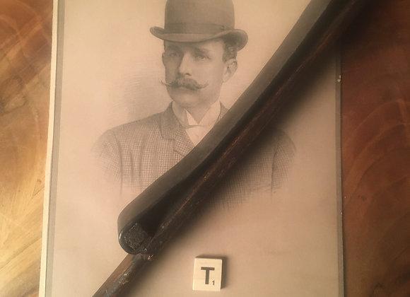 A Victorian Leather 'Strop' Razor Sharpener