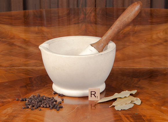 Early 20th Century Pestle and Mortar
