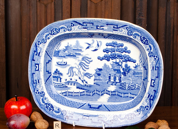 Victorian Willow Pattern Plate