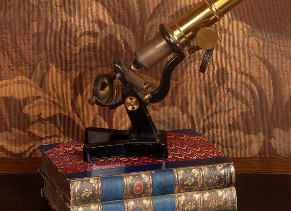 Early 20th Century Student's Microscope