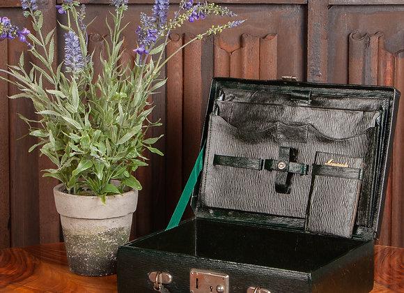 An Edwardian Leather Attache/Briefcase