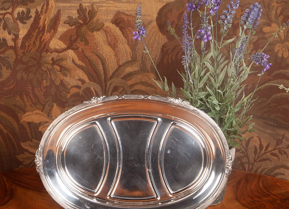 Late Victorian Silver Plated Serving Tray