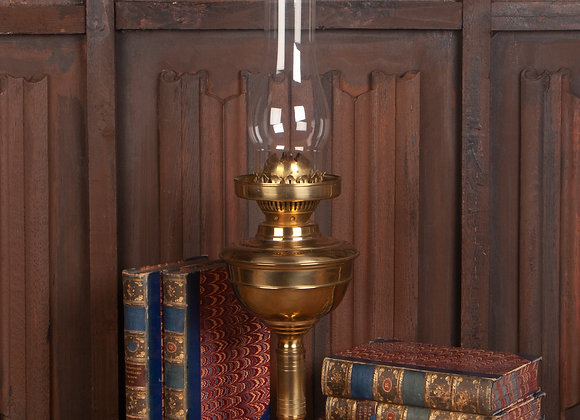 Early 20th Century Brass Oil Lamp
