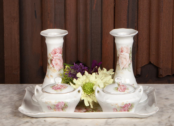 Late Victorian Dressing Table Set