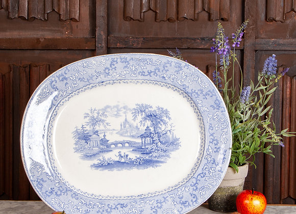Blue and White Platter/Charger
