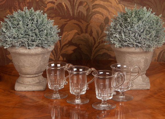 4 x Victorian Custard/Jelly Cups