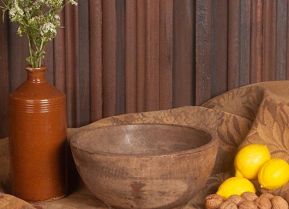 Victorian Wooden Bowl