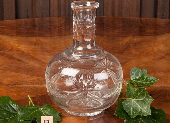 Victorian Cut Glass Carafe