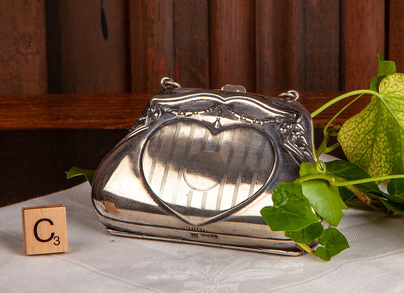 Early 20th Century Ladies Silver Plated Purse/Bag
