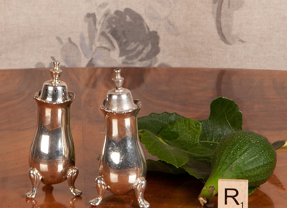 A Pair of Early 20th Century Salt and Peppers