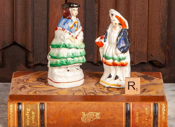 Two Victorian Staffordshire Figures