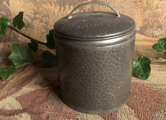 1930s Pewter Tea or Tobacco Pot