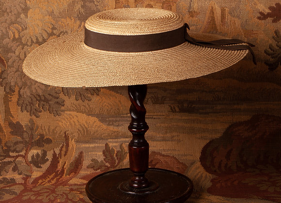 Early 20th Century Ladies Straw Hat