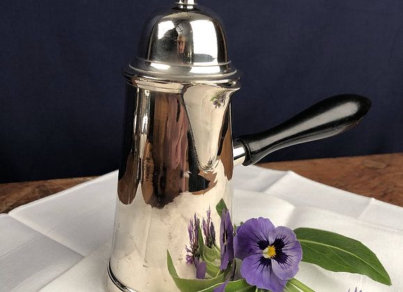 Silver Plated Hot Chocolate Jug
