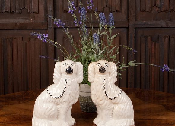 Pair of Victorian Pot Dogs