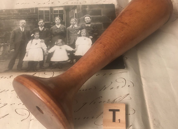 Early Wooden Stethoscope