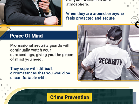Key Reasons Why You Should Hire Security Guards