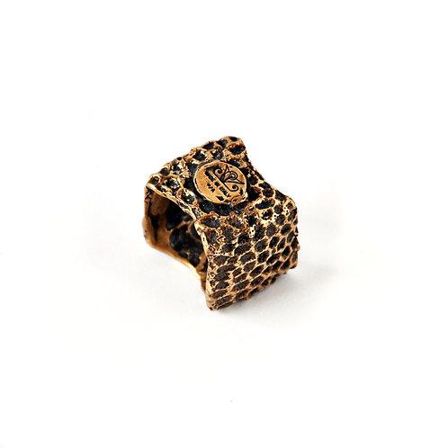 Sea Sponge 4D ring bronzo - Sea Sponge 4D ring bronze