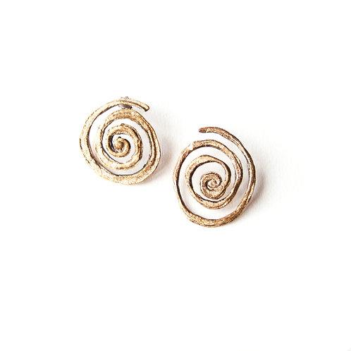 Orecchini Spirale 3D - Spirale 3D Earrings