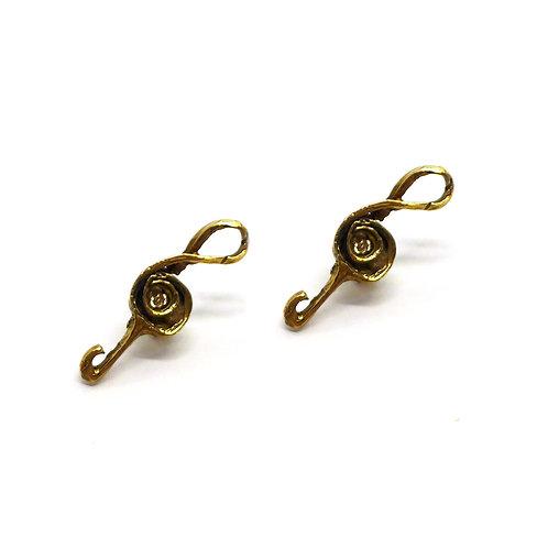 Orecchini Treble Clef -Treble Clef Earrings