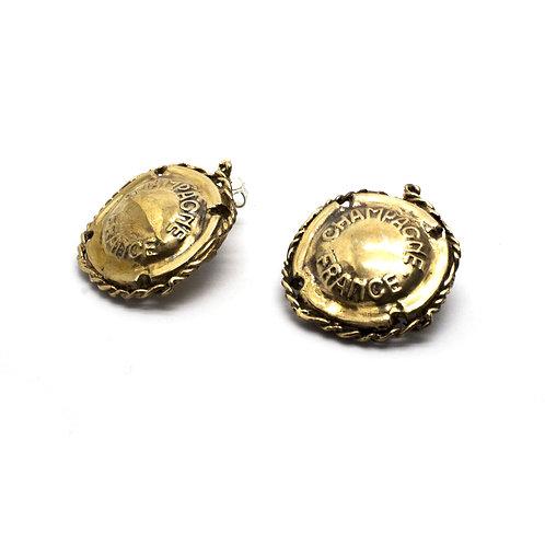 Orecchini Champagne - Champagne Earrings