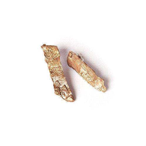 Orecchini Corteccia Lavica - Lava Bark Earrings