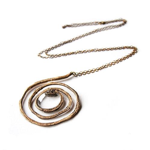 Collana Lente Spirale - Spiral Lens Necklace