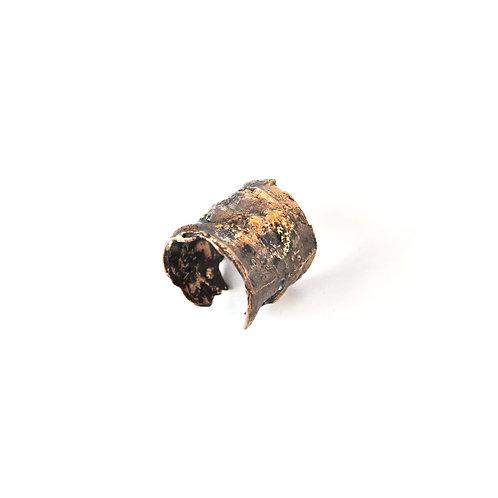 Anello Corteccia Lavica - Lava Bark Ring