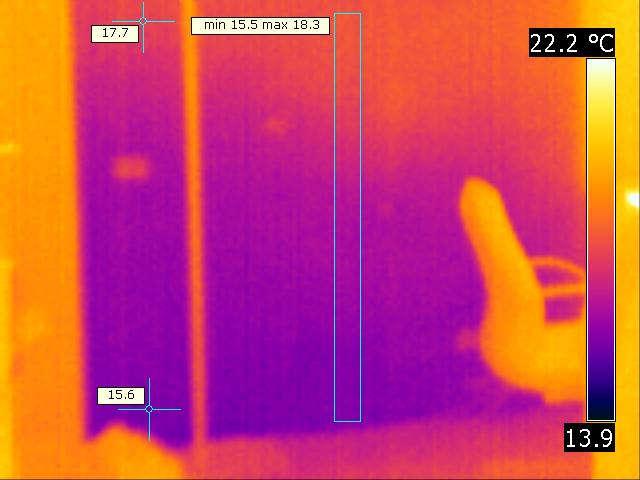 Ispezione termografica
