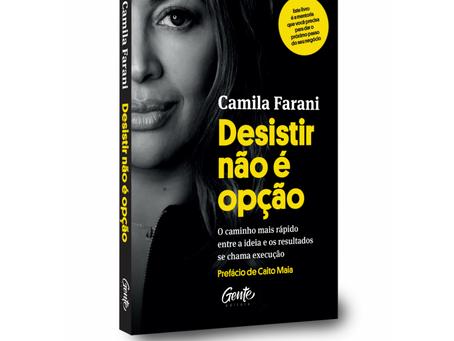 Camila Farani lança seu primeiro livro