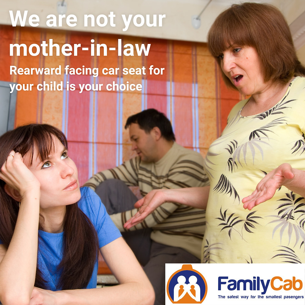 We are not your Mother-in-law