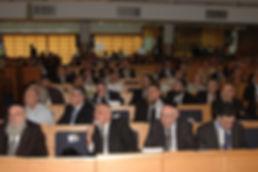 הקהל בכנס להלכה ישומית של האנציקלופדיה ה