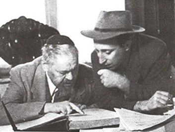 הרב מאיר בר אילן עם הרב הוטנר.jpg