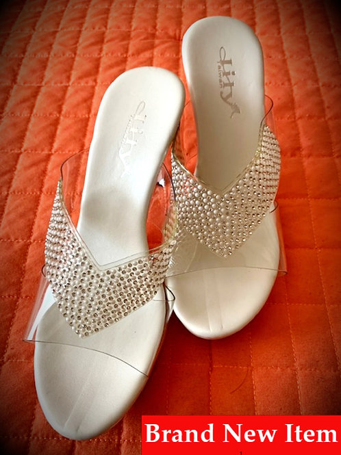 Lily White High Heels
