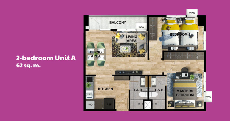 19 2-Bedroom-Unit-A-Paseo-Grove-Condo-Ma
