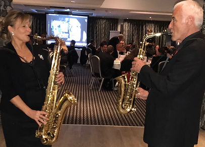 Sax In The City - Cadbury House IIA Gala Dinner