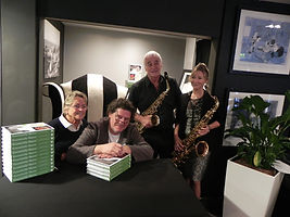 Sax In The City at Marco Pierres Book Launch Cadbury House Hotel