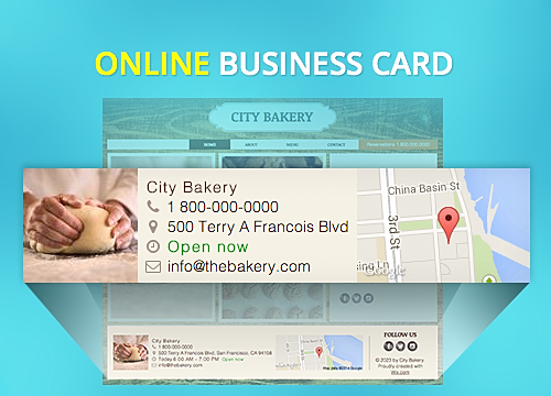 Online business card overview wix app market wix colourmoves