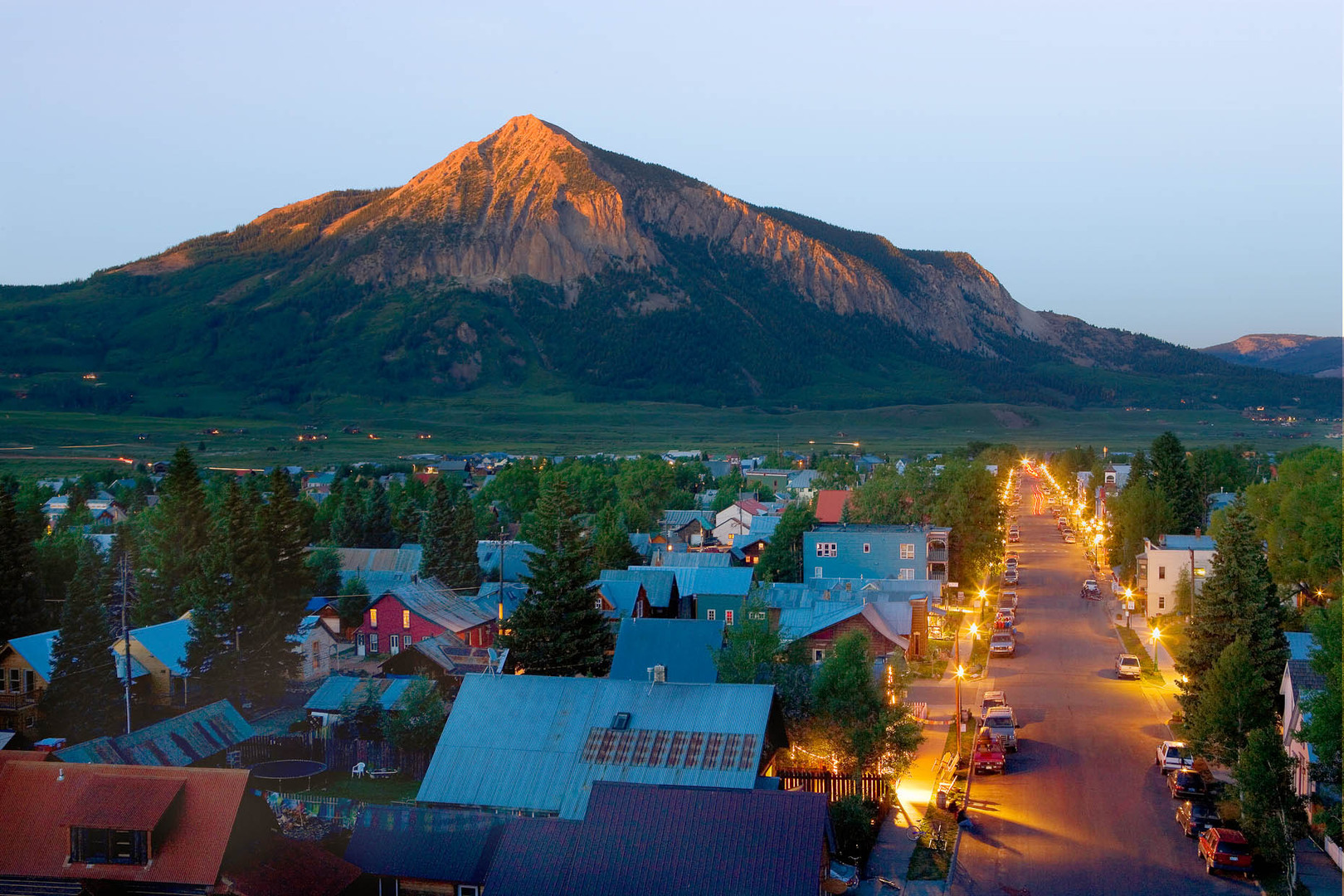 Crested Butte on summer's eve
