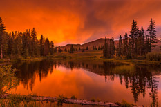 Ruby Range Sunset