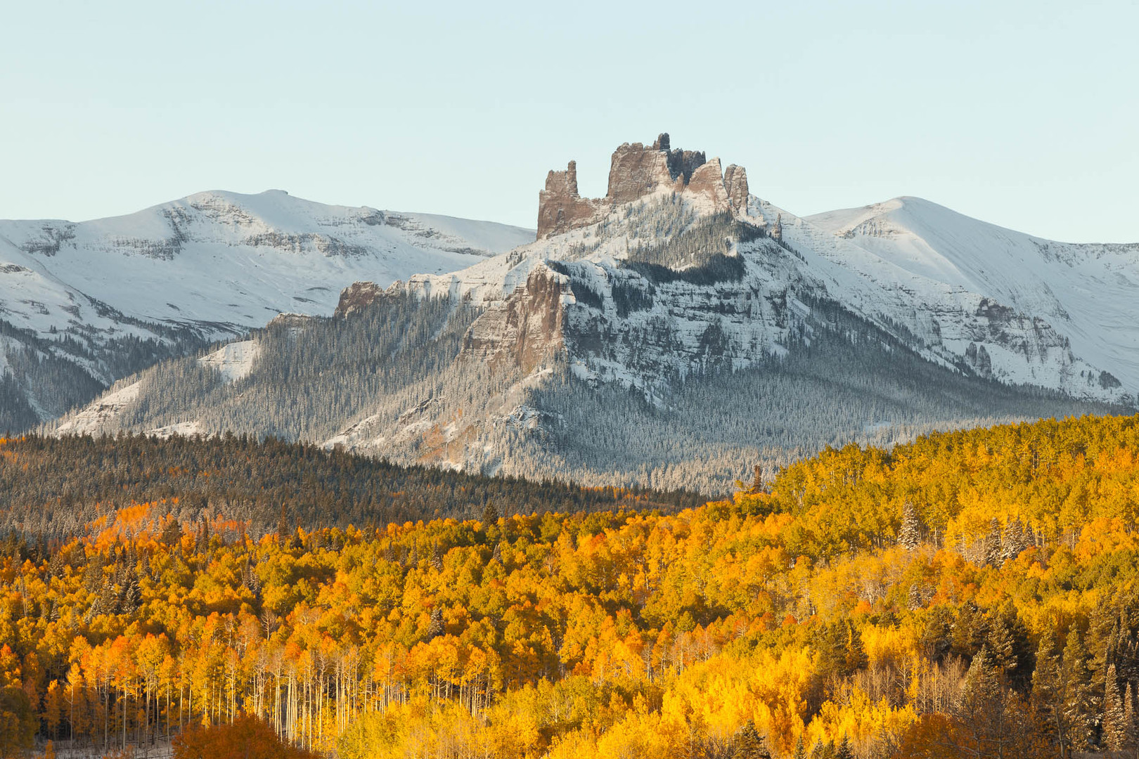 The Castles in fall