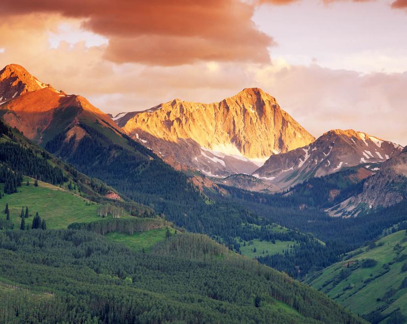 Capital Peak sunset