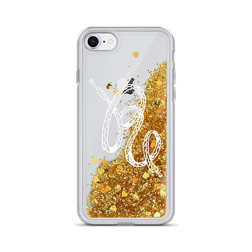 REBEL Liquid Glitter Phone Case