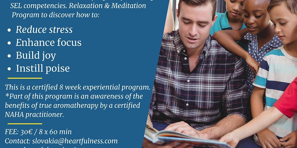Heartful Meditation for Teachers 8 Session Certification Program