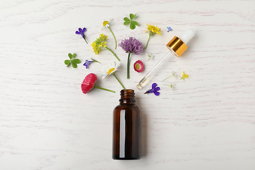 Aromatherapy Consultation with Personalized Custom made Organic Blend