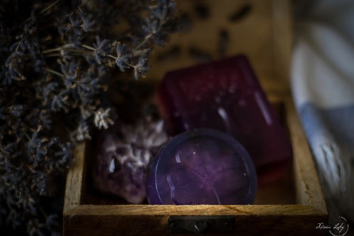 Handmade Organic Essential Oil Soaps with treasures inside!